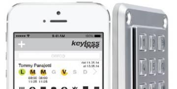 Keyless: la serratura che si apre con un dito