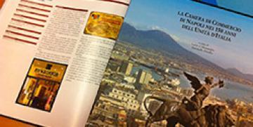 Newstanis premiata come azienda ultracentenaria dalla Camera di Commercio di Napoli.